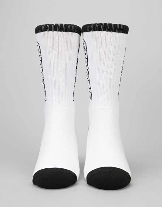 Chrystie OG Logo Socks - White