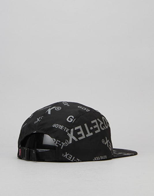 Herschel Supply Co. Glendale Gore-Tex 5 Panel Cap - Black/Dark Grey