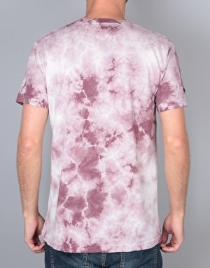 RIPNDIP Castanza T-Shirt - Red Acid Wash