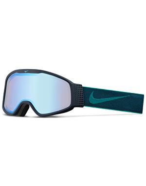 Nike Mazot 2017 Snowboard Goggles - Obsidian - Rio Teal/Yellow Blue