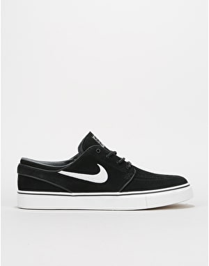 Nike SB Stefan Janoski OG Skate Shoes - Black/White-Gum Light Brown