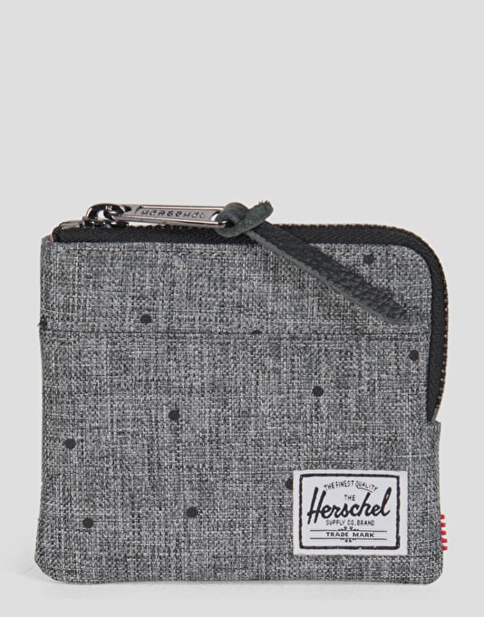 Herschel Supply Co. Johnny Wallet - Scattered Raven Crosshatch