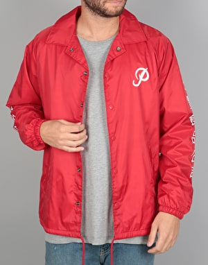 Primitive x Huy Fong Coach Jacket - Red