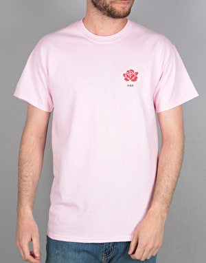Route One Rose T-Shirt - Light Pink