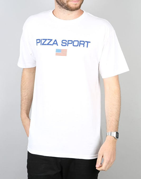 Pizza Sport T-Shirt - White