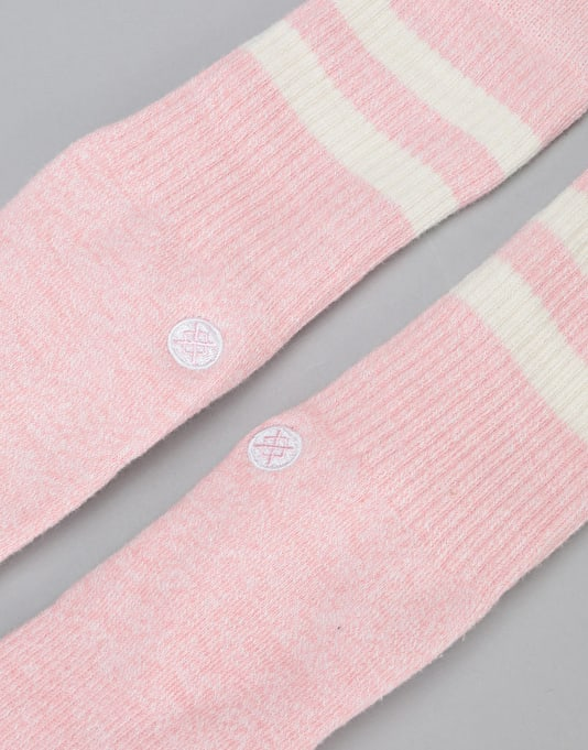Stance Salty Classic Crew Socks - Pink