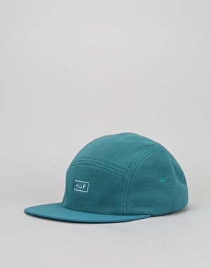 HUF Polar Fleece Volley 5 Panel Cap - Jade