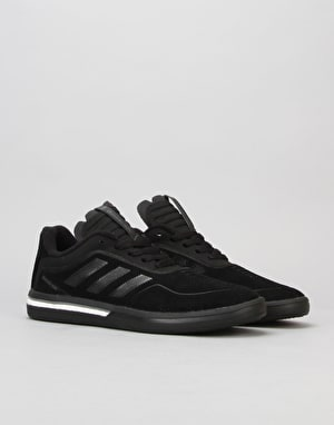 Adidas Dorado ADV Skate Shoes - Black/Black/White