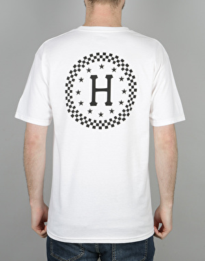 HUF Checkered T-Shirt - White