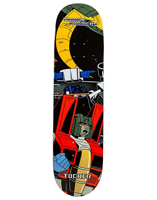 Primitive x Transformers Tucker Starscream Pro Deck - 8.125""