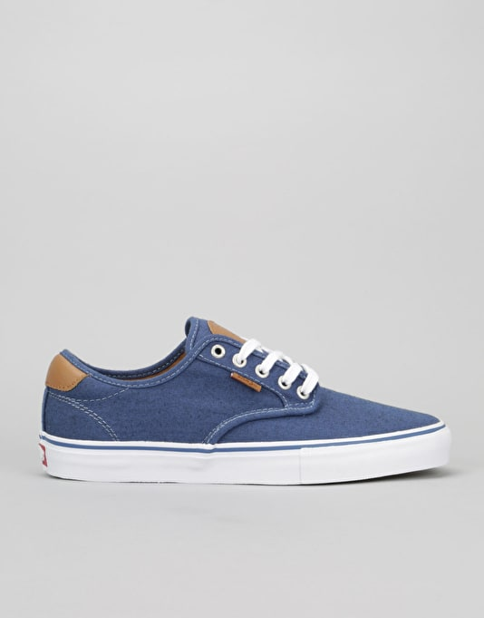 Vans Chima Ferguson Pro Skate Shoes - (Oxford) Blue
