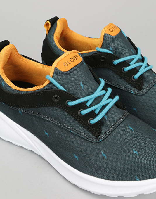 Globe Roam Lyte Boys Shoes - Night/Blue Bolts