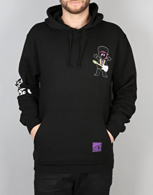 Grizzly x Jimi Hendrix Grizzly Hendrix Pullover Hoodie - Black