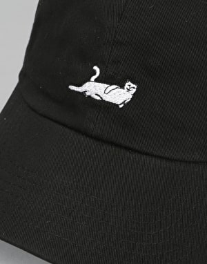RIPNDIP Castanza 6 Panel Cap - Black