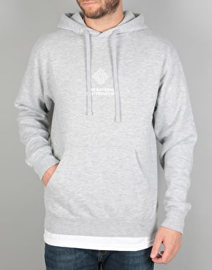 The National Skateboard Co. Classic Pullover Hoodie - Heather Grey
