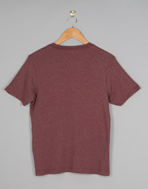 Element Signature Boys T-Shirt - Oxblood Heather