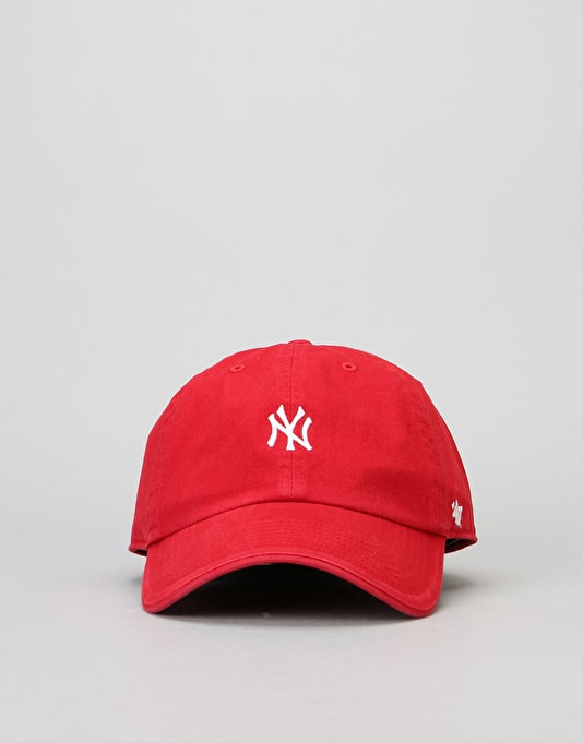 '47 Brand MLB New York Yankees Centrefield Clean Up Cap - Red