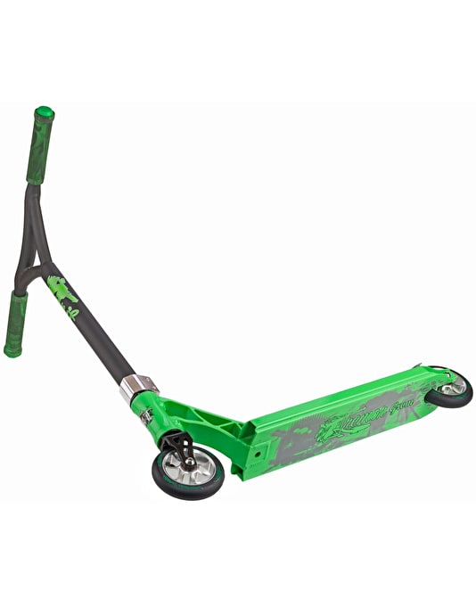 Grit Tremor Grom 2017 Scooter - Green/Satin Grey