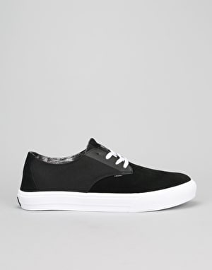 Globe Motley LYT Skate Shoes - Black/White