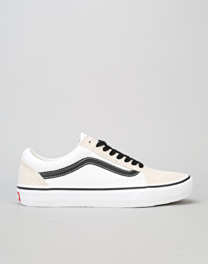 Vans Old Skool Pro 50th Anniversary Skate Shoes - '92 White/Black