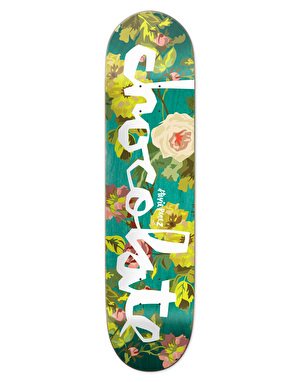 Chocolate Perez Floral Chunk Pro Deck - 8.25