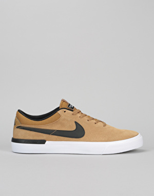 Nike SB Koston Hypervulc Skate Shoes - Golden Beige/Black