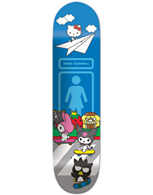 Girl x Hello Sanrio Carroll UK Exclusive Pro Deck - 8.375