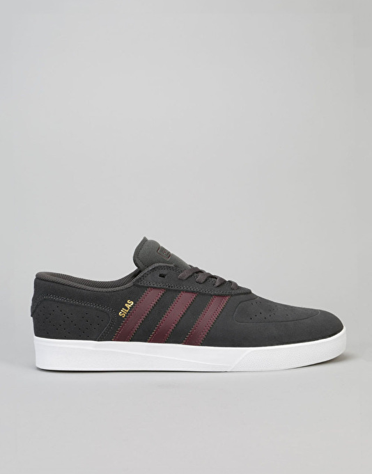 7f9bcd4210ce74 ... discount adidas silas vulc adv skate shoes solid grey maroon white  01ed6 1f3a7