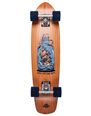 D Street Cherry Loose Lips Cruiser - 7.25