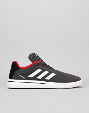 Adidas Dorado ADV Skate Shoes - Solid Grey/White/Scarlet