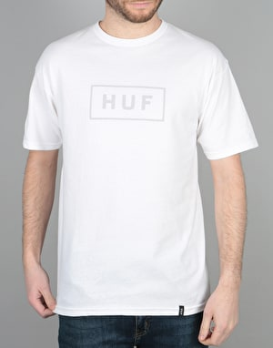 HUF Bar Logo T-Shirt - White