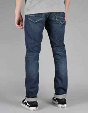 DC Washed Straight Jeans - Medium Stone
