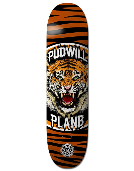 Plan B Pudwill Savages BLK ICE Pro Deck - 8""