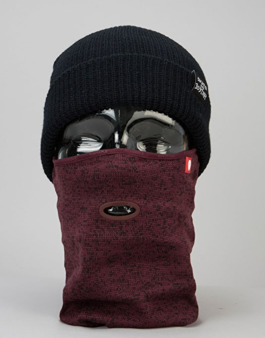 Airhole Airtube Ergo Sweater Knit Facemask - Heather Arbutus