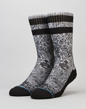 Stance Via Bella Classic Crew Socks - Black
