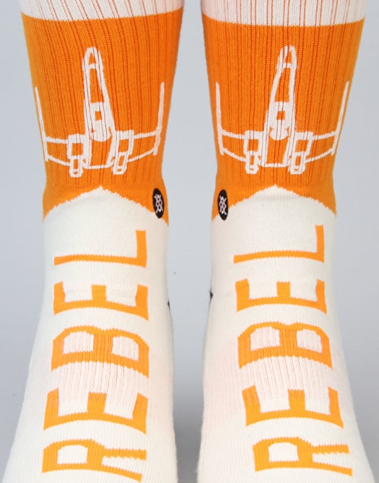 Stance x Star Wars Varsity Rebel Socks - Orange