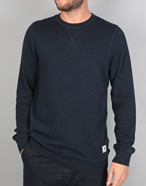 Element Cornell Overdye Crew Sweatshirt - Eclipse Navy