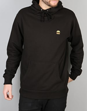 Route One Burger Hoodie - Black
