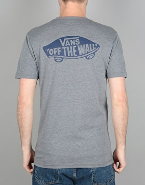 Vans OTW Classic Pocket T-Shirt - Heather Grey/Dress Blues