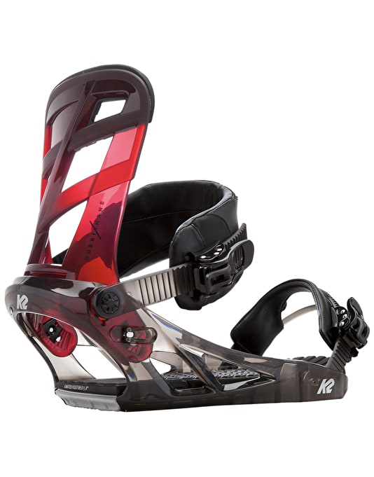 K2 Hurrithane 2017 Snowboard Bindings - Black