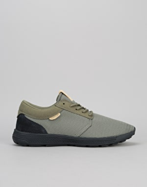 Supra Hammer Run Skate Shoes - Olive/Black