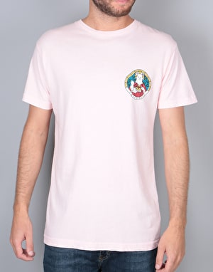 RIPNDIP Stained Glass T-Shirt - Pink