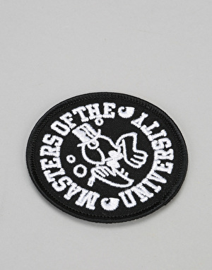 Carhartt Masters Woven Patch - Black/White