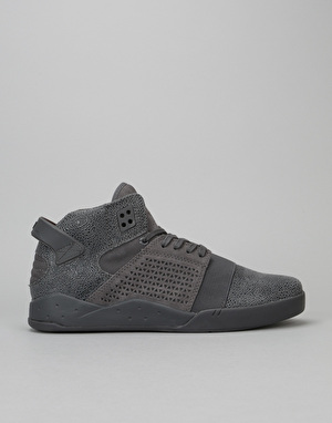 Supra Skytop III Skate Shoes - Dark Grey Harmonic