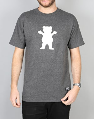 Grizzly OG Bear T-Shirt - Charcoal Heather