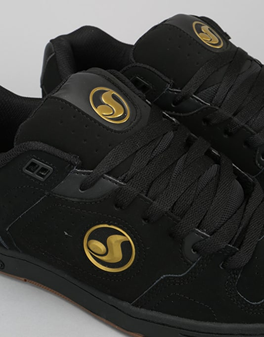 DVS Discord Skate Shoes - Black/Gold