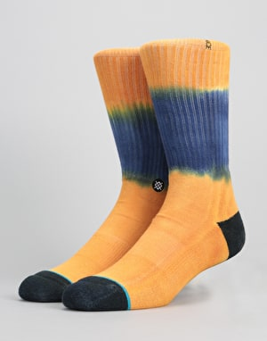 Stance Tucker Classic Crew Socks - Orange