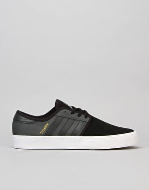 Adidas Seeley ADV Skate Shoes - Solid Grey/Core Black