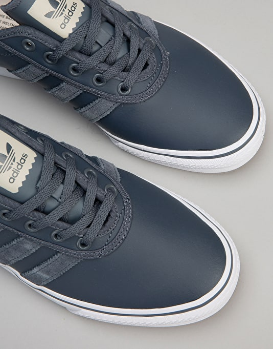 Adidas Adi-Ease Skate Shoes - Utility Blue/Utility Blue/Clear Brown