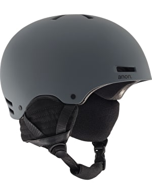 Anon Raider 2017 Snowboard Helmet - Dark Grey